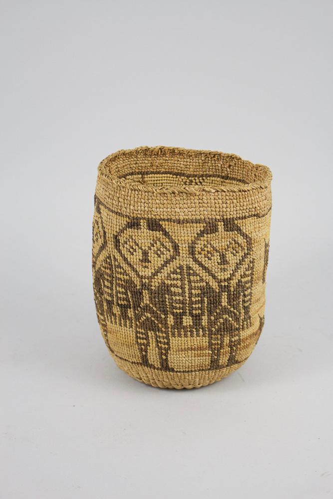 Wasco Wishram Basket   c.1890  CRW0001