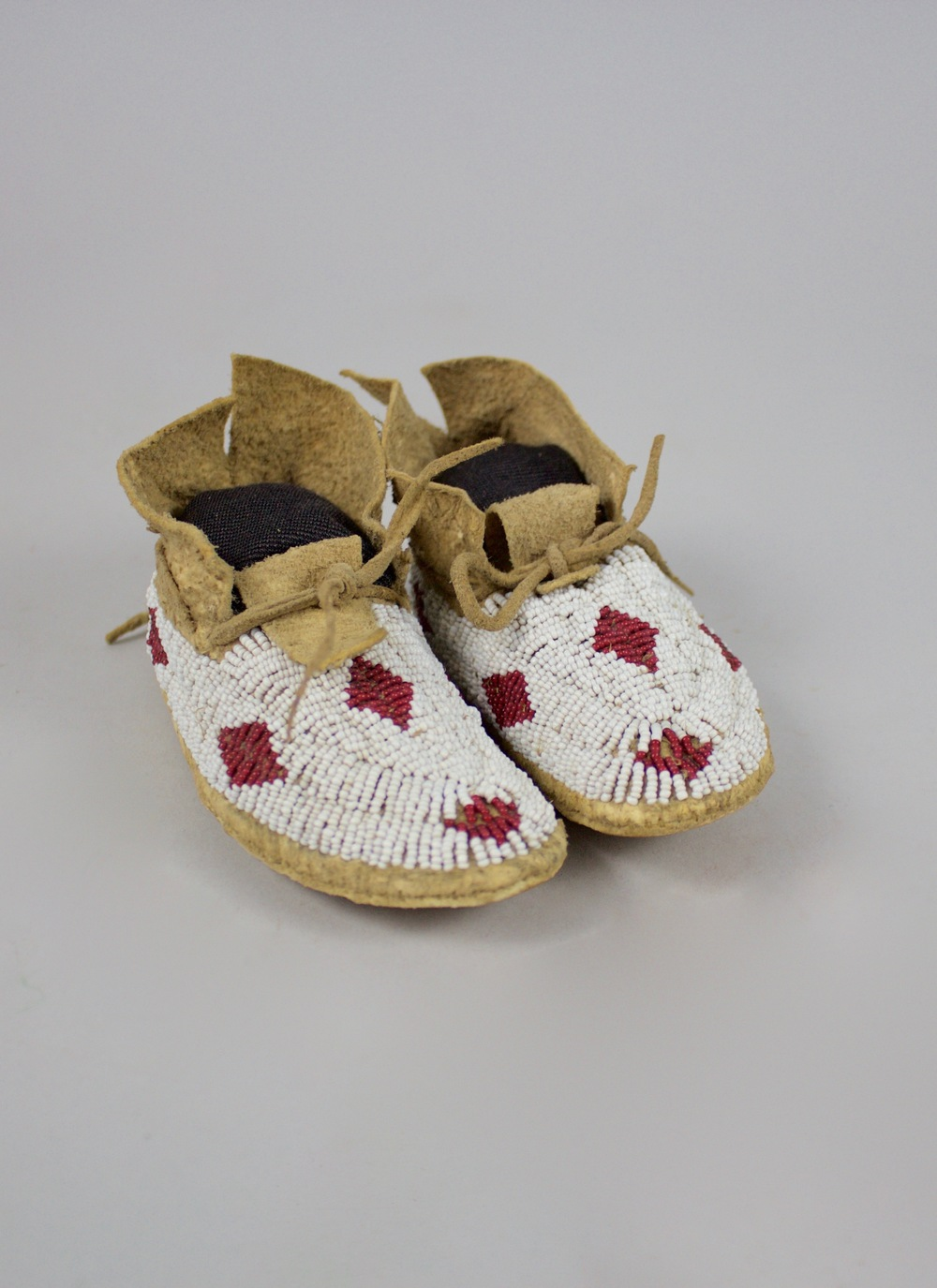 Cheyenne Child's Moccasins   c.1870  BV0223