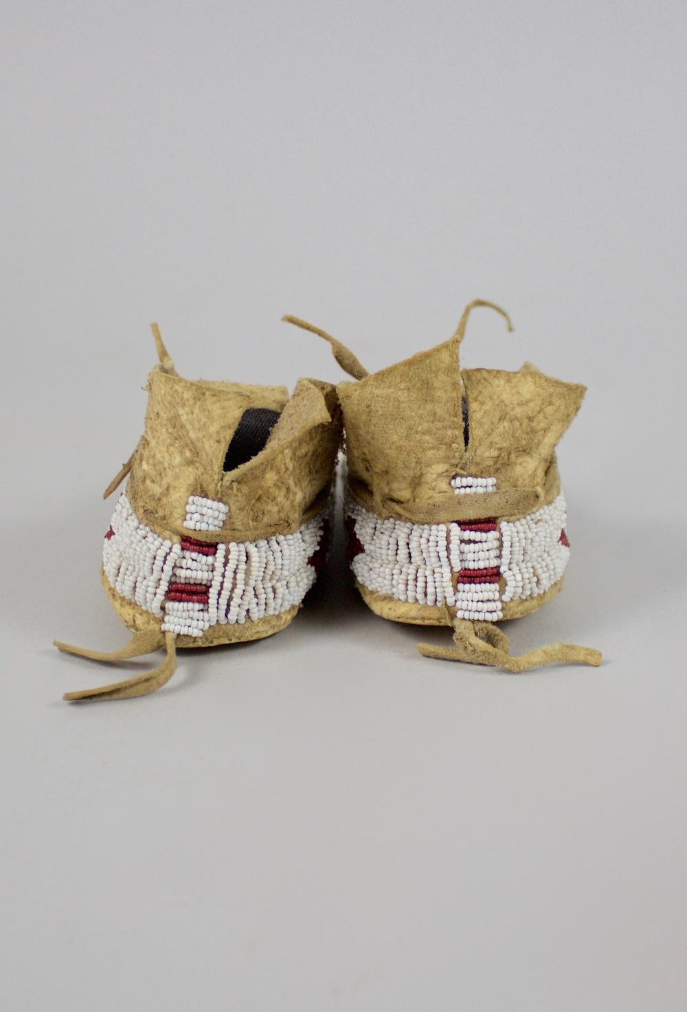 Cheyenne Child's Moccasins c.1870 BV0223
