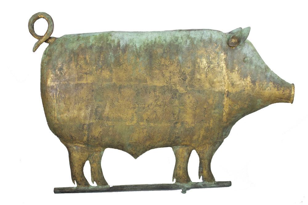 Pig Weathervane c.1880s CGL0007