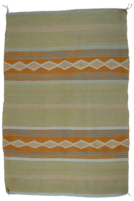 "Chinle Navajo Weaving c. 1940s 40"" x 26"" // BV0127"