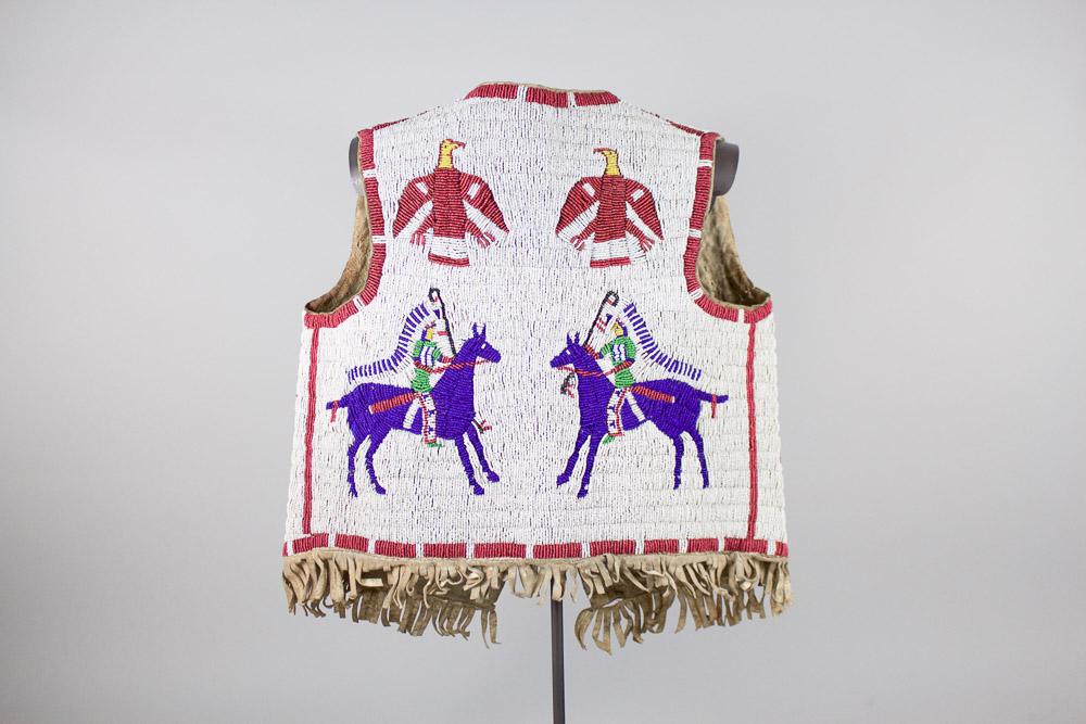 Cheyenne River Sioux Childs Vest   c. 1890  CGL0002