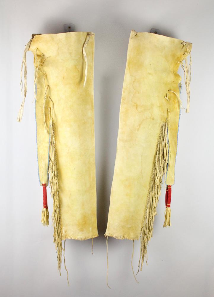 Kiowa Man's Leggings c.1890s BV0086