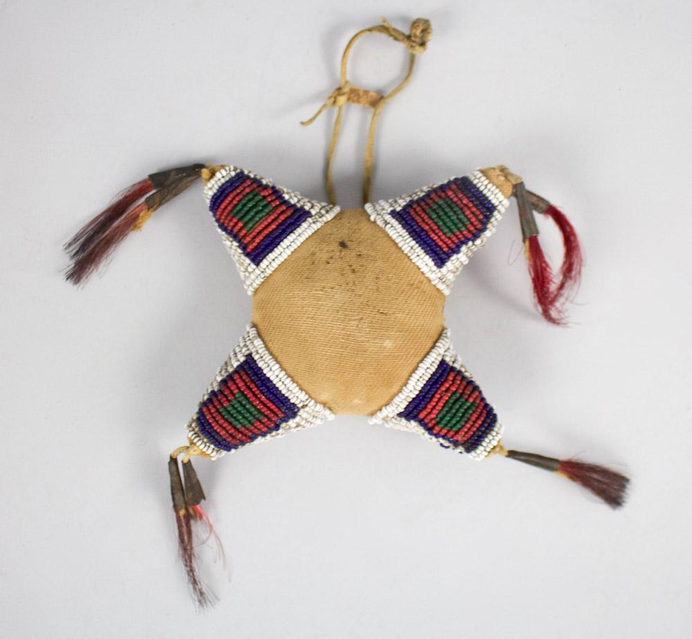 Northern Cheyenne Morning Star Cradle Decoration   c.1870's  BV0481