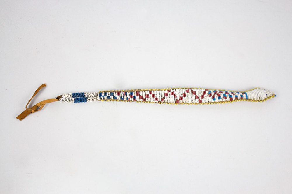 Blackfoot Snake Fetish   c. 1880s  BV0628