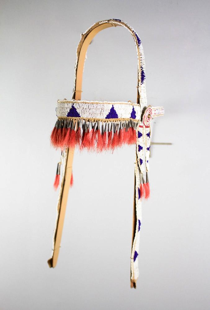 Lakota Headstall Cover   c.1890s  BV0084