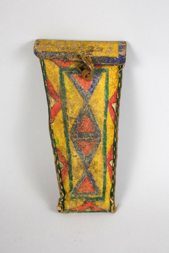 Sioux Parfleche Eliptical Case c.1890 BV0479