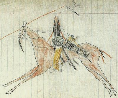 Cheyenne Ledger Drawing