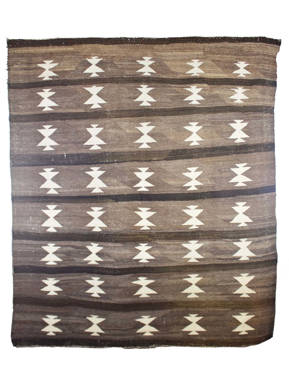 "Navajo Crystal Weaving   c. 1890's  51"" x 60""  CWS0009"