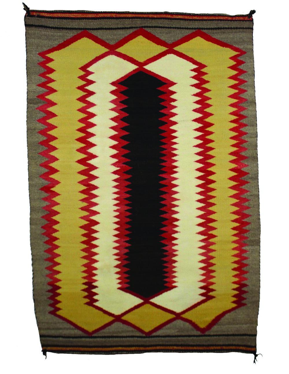 """Small Navajo Weaving 28"""" x 41"""" CTS0001"""