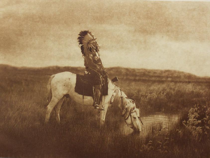 Edward S. Curtis    Oasis in the Badlands , 1905  Photogravure  Unframed  BV0522