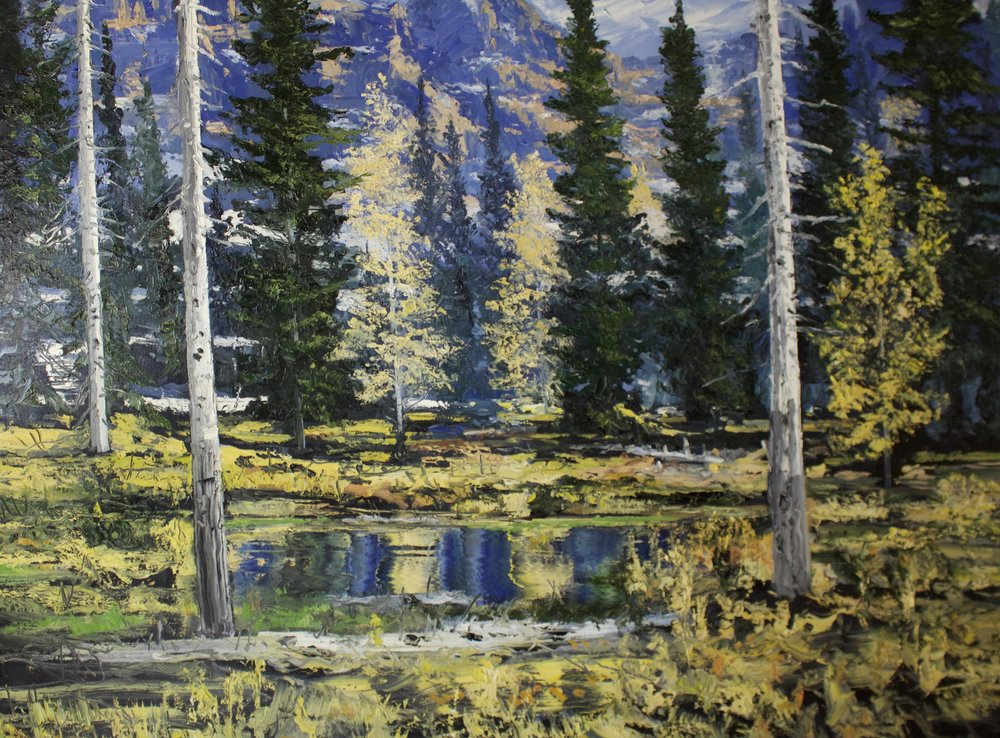 "James Pringle Cook    Centennial Autumn #2   Oil on Linen 60"" x 80""  CJC0002"