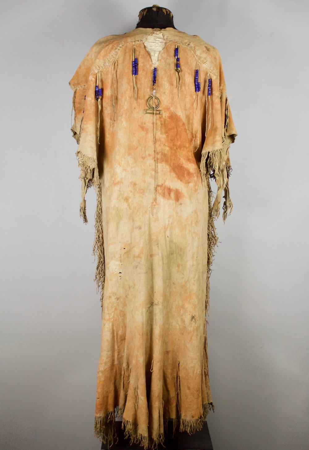 Cree Antelope Dress   c.1850's  CMC0036