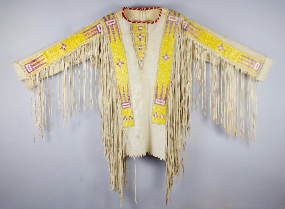 Hidatsa/Arikara War Shirt   c. 1870's  SD0202