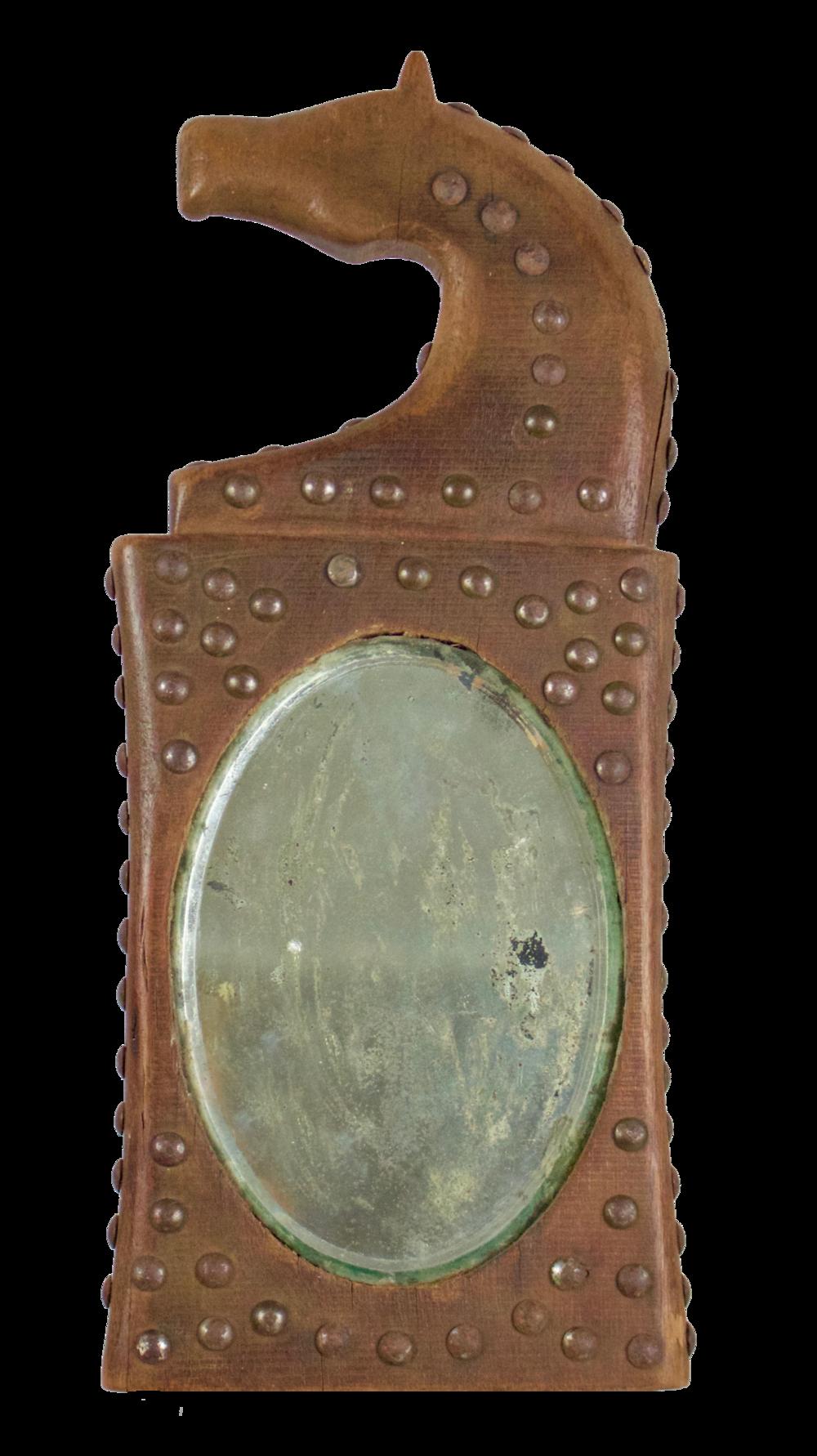 Otoe Horse Mirror, c.1870's CRS0002