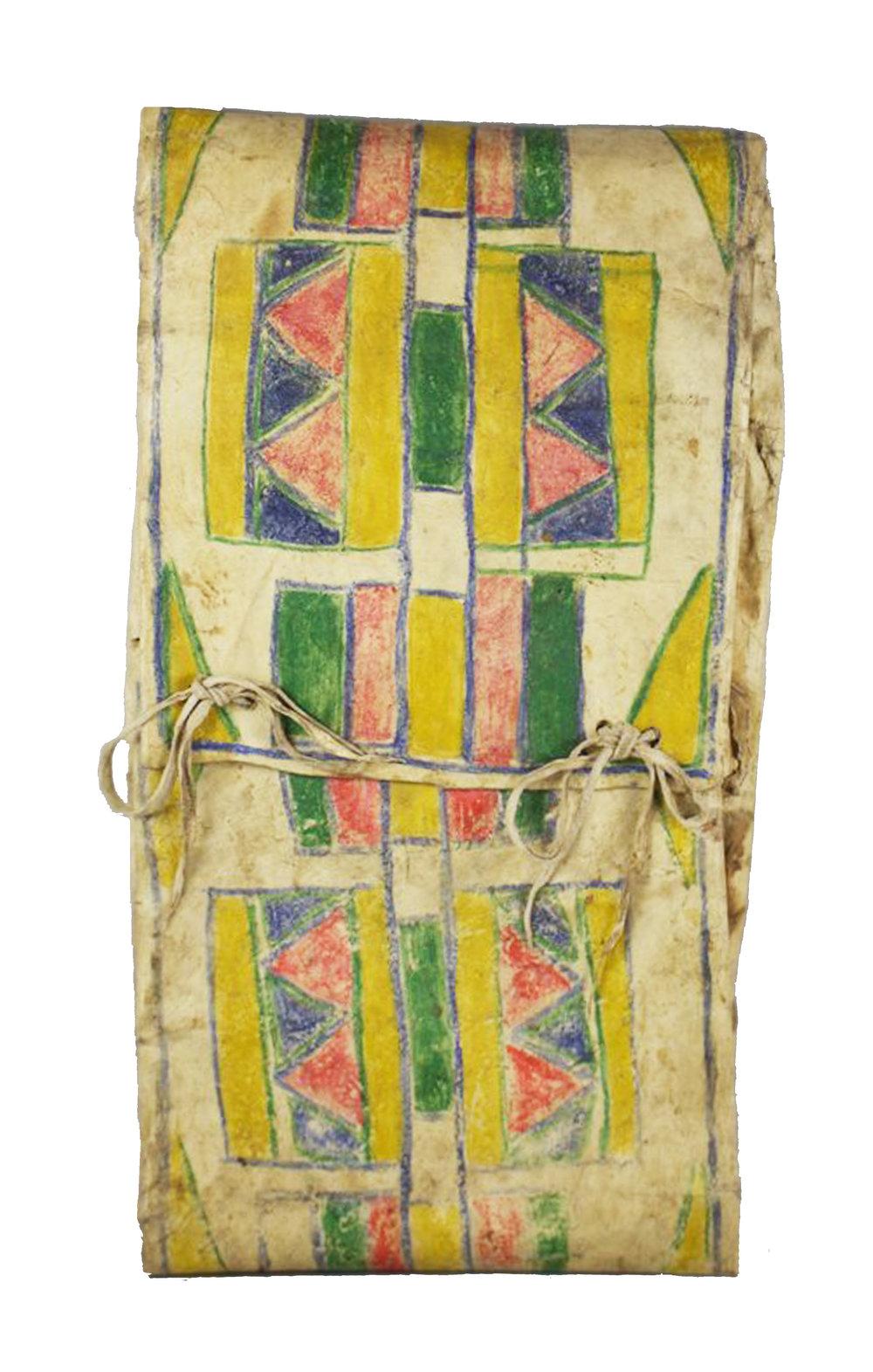 Umatilla Parfleche Envelope   c.1890's  DV0109