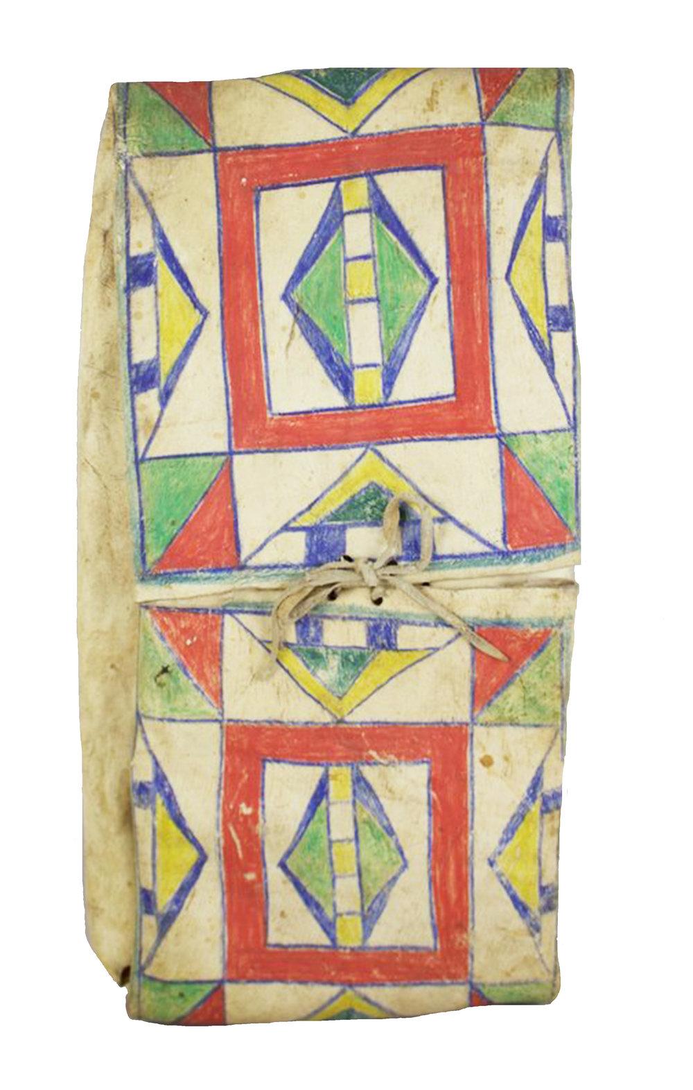 Nez Perce Parfleche Envelope   c.1890's  DV0108