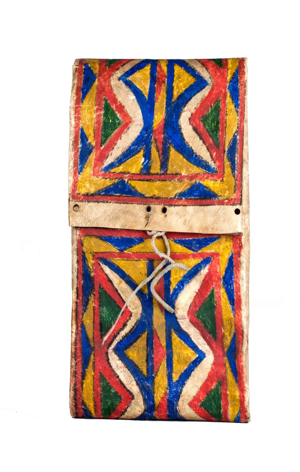 Small Lakota Parfleche Envelope   c.1870's  BV0013