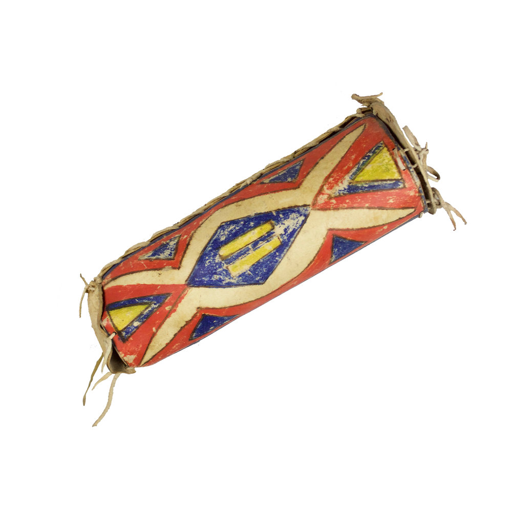Sioux Parfleche Cylinder   c.1890's  CCH0014