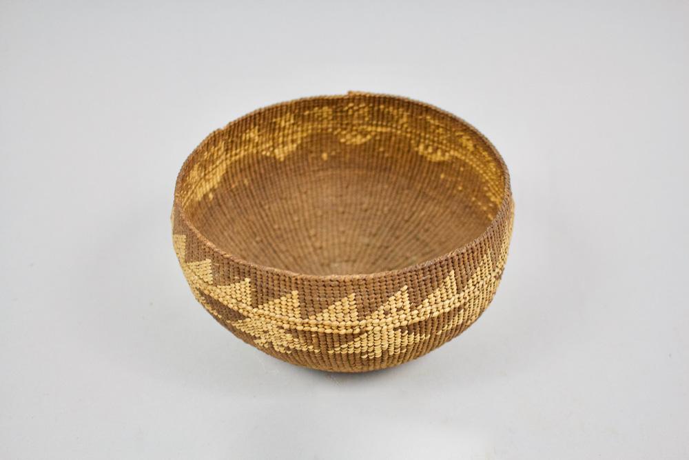 Northern California Hupa Basket   c.1920's  CNM0008
