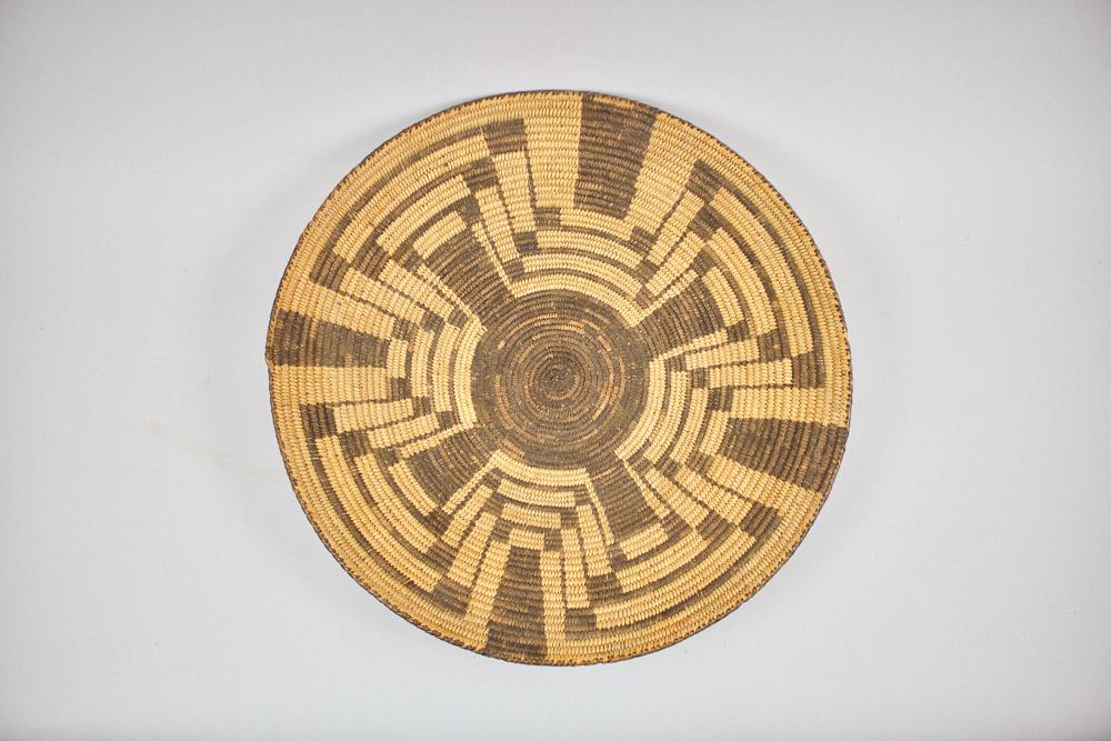 Pima Basket Tray   c.1920's  BV0081