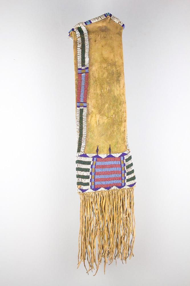 Cheyenne Barred Pipe Bag   c.1860s-1870s  DV0079