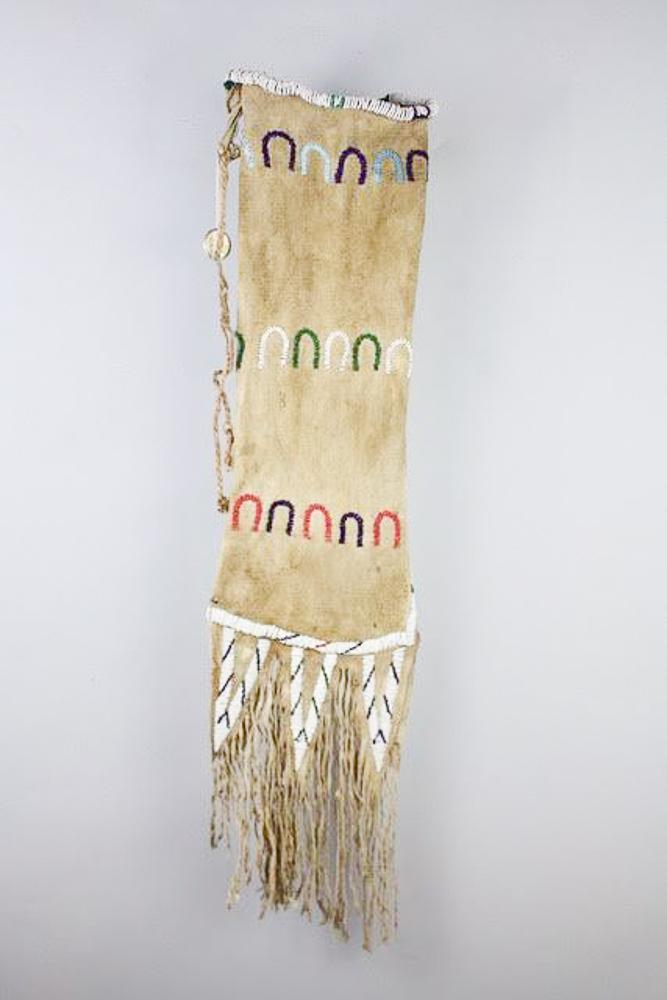 Lakota Warrior Pipe Bag   c.1870s  BV0681