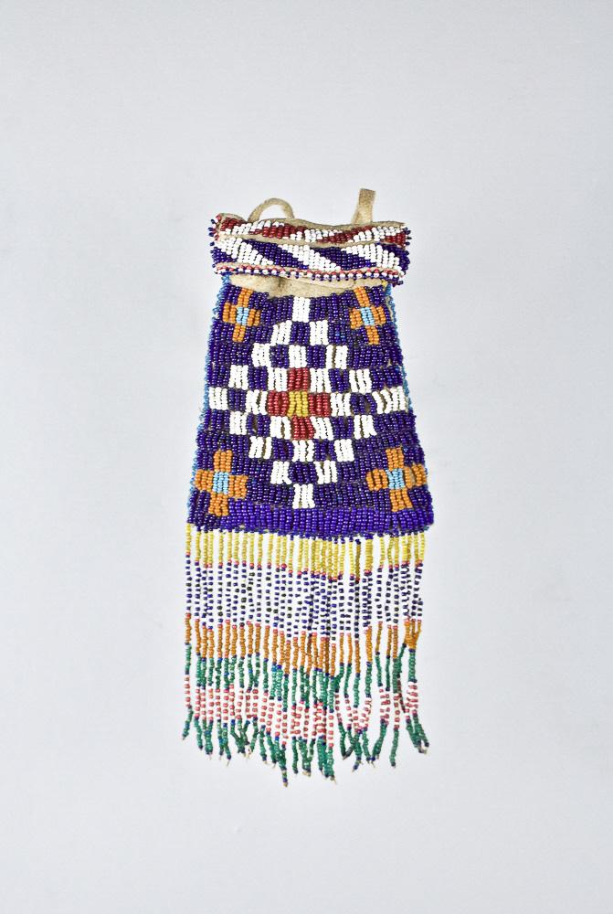 Mescalero Apache Bag   c.1880s-1890s  DV0013
