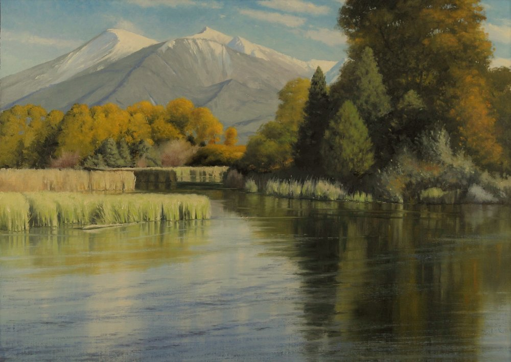 "Jake Gaedtlke    Absaroka Autumn   Oil on Linen  Framed 20"" x 28""  CJG0005"