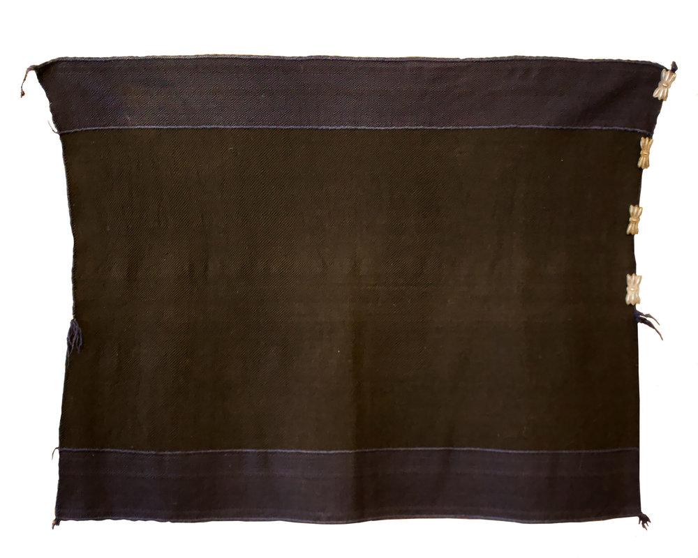 """Zuni Manta   c.1870's  38"""" x 54"""" // BV0815"""