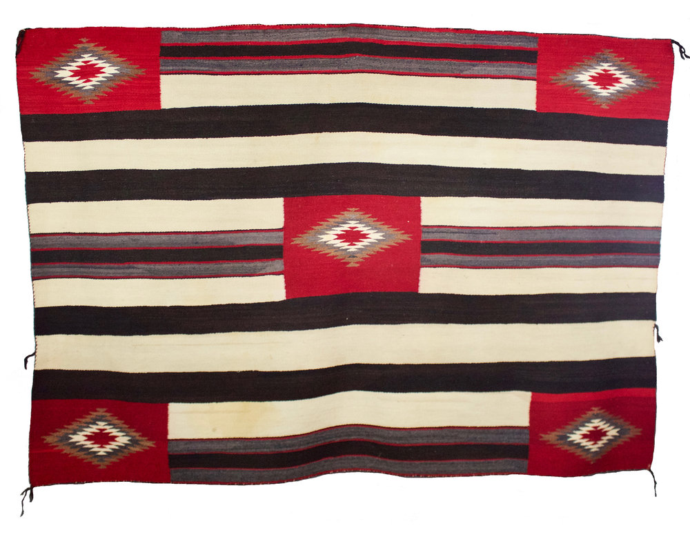 Navajo Chief's Blanket, 3rd Phase Variant   c.1890's  BV0805