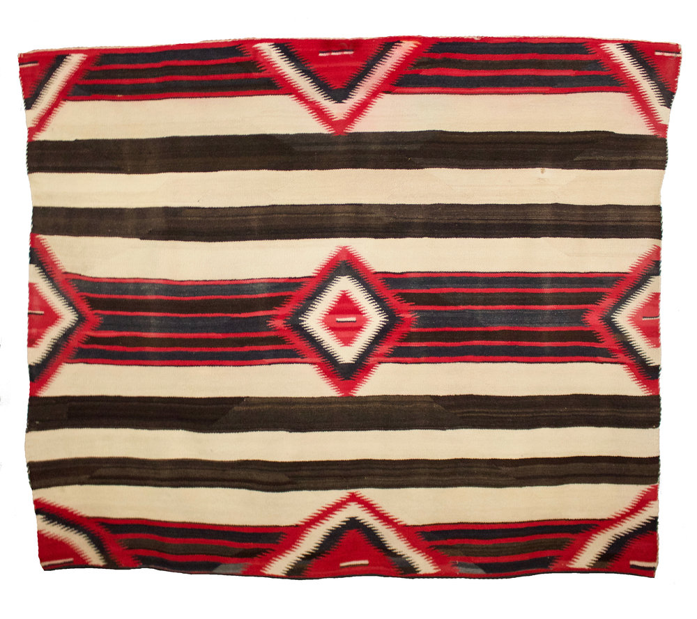 Navajo Chief's Blanket, 3rd Phase Variant   c.1890's  BV0804