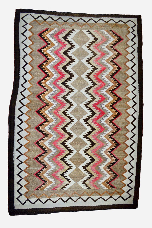Navajo Weaving   c.1920's-1930's  BV0650