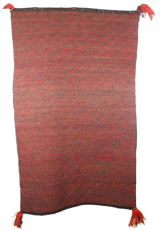 Navajo Double Saddle Blanket   c.1910  CRT0014