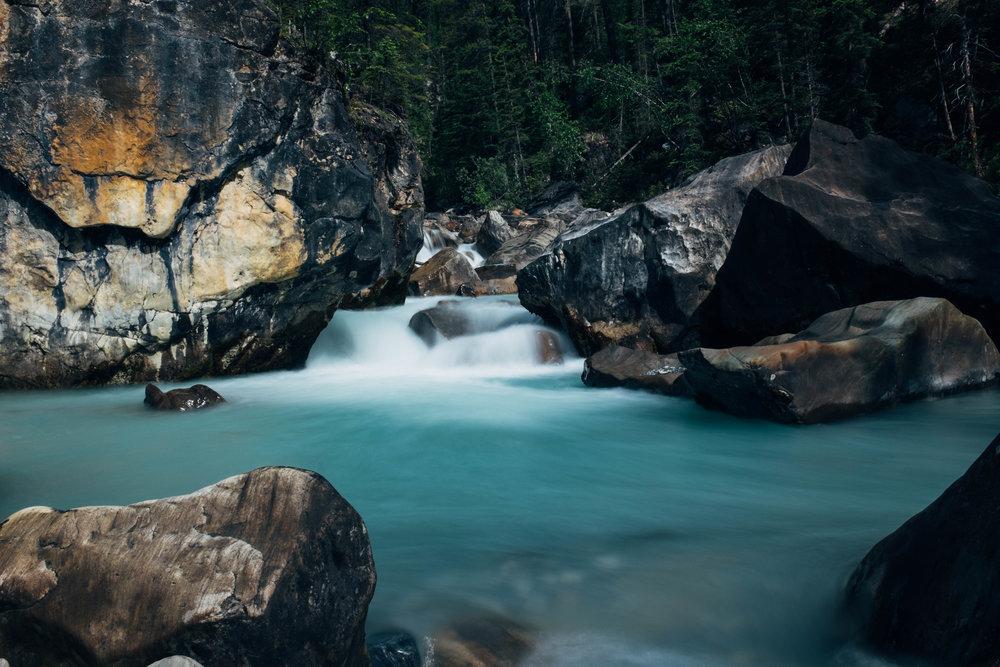 Random waterfalls