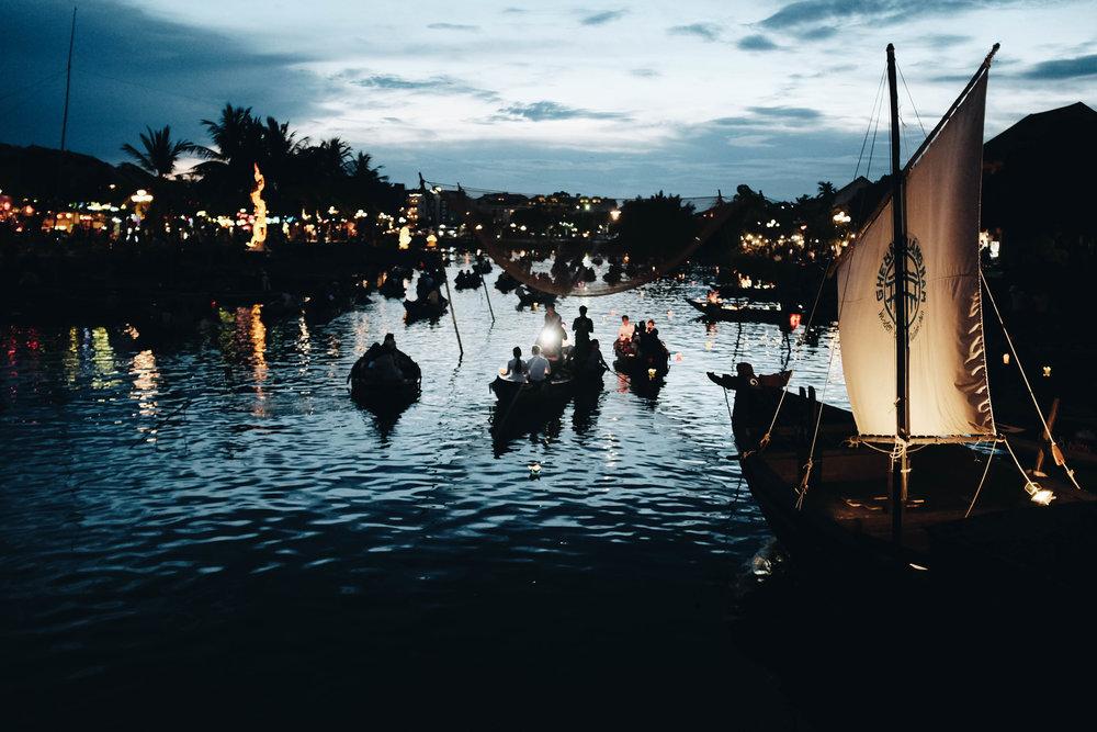 Lantern festival - Hoi An, Vietnam