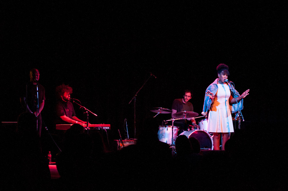 Photo Credit: Meredith Westin   WE STAND TOGETHER: A Fundraiser for Philando   - A fundraiser at The Cedar Cultural Center July 17, 2016 to unite the community through music and spoken word. Featuring over a dozen Minnesota artists (Mina Moore, DeM Atlas, ZULUZULUU to name a few). The event was put on with a weeks notice, featured a wide-swath of the local music community, and raised over $3,000 for the Castile family.