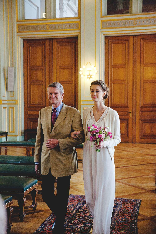 Populaire Le joli mariage civil de Delphine et Geoffrey — Blog mariage 100  MV84