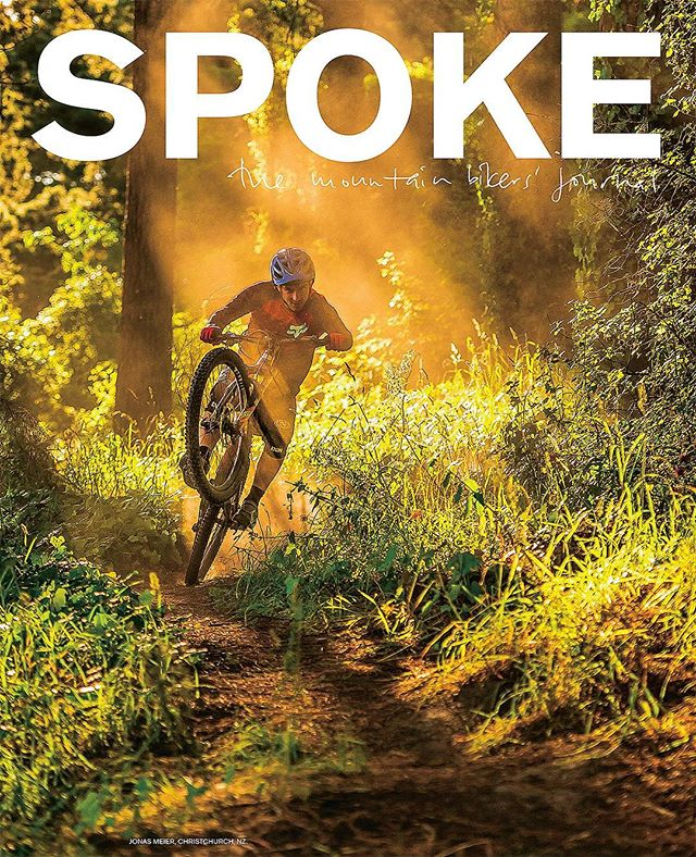 Super stoked to get my first mountainbike cover shot on the latest issue of @spokemagazine. Jonas Meier absolutely killing it on the pedals… sick #wheelie bro #braapp 🤘 and shot in a seriously cool spot that @drailddaryl, @gregjack and crew have built for the Christchurch and Lyttelton bike community! Read the feature article in the mag on shelves right now!  #lightbro  @santacruzbicycles @torpedo7 @revolutioncomponents @nikonnz 📷 #Nikon #D4s 70-200mm f/2.8 VRII at 100mm, f/2.8, 1/2000s, ISO 2200