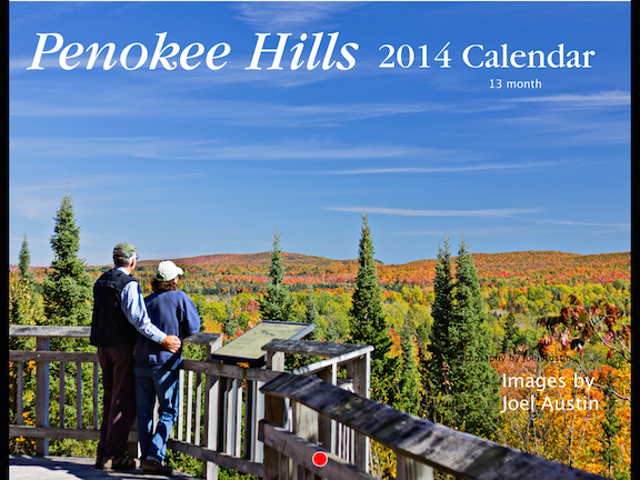2014 Penokee Hills Calendar- SOLD OUT