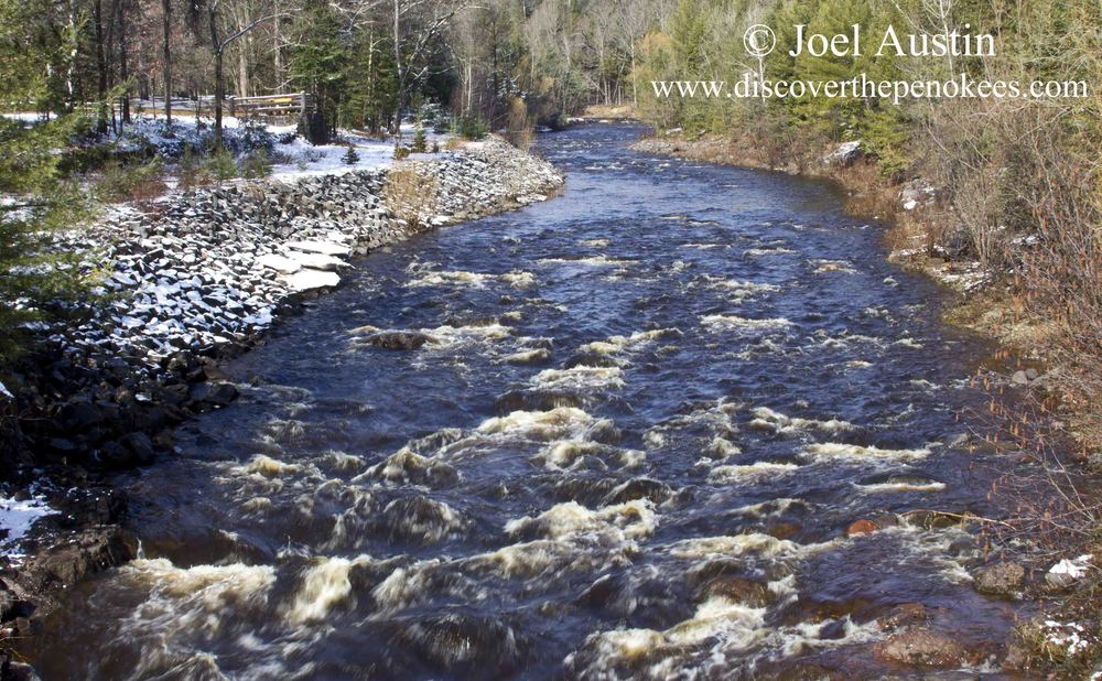 The Bad River as it flows through Copper Falls State Park on the way to Lake Superior