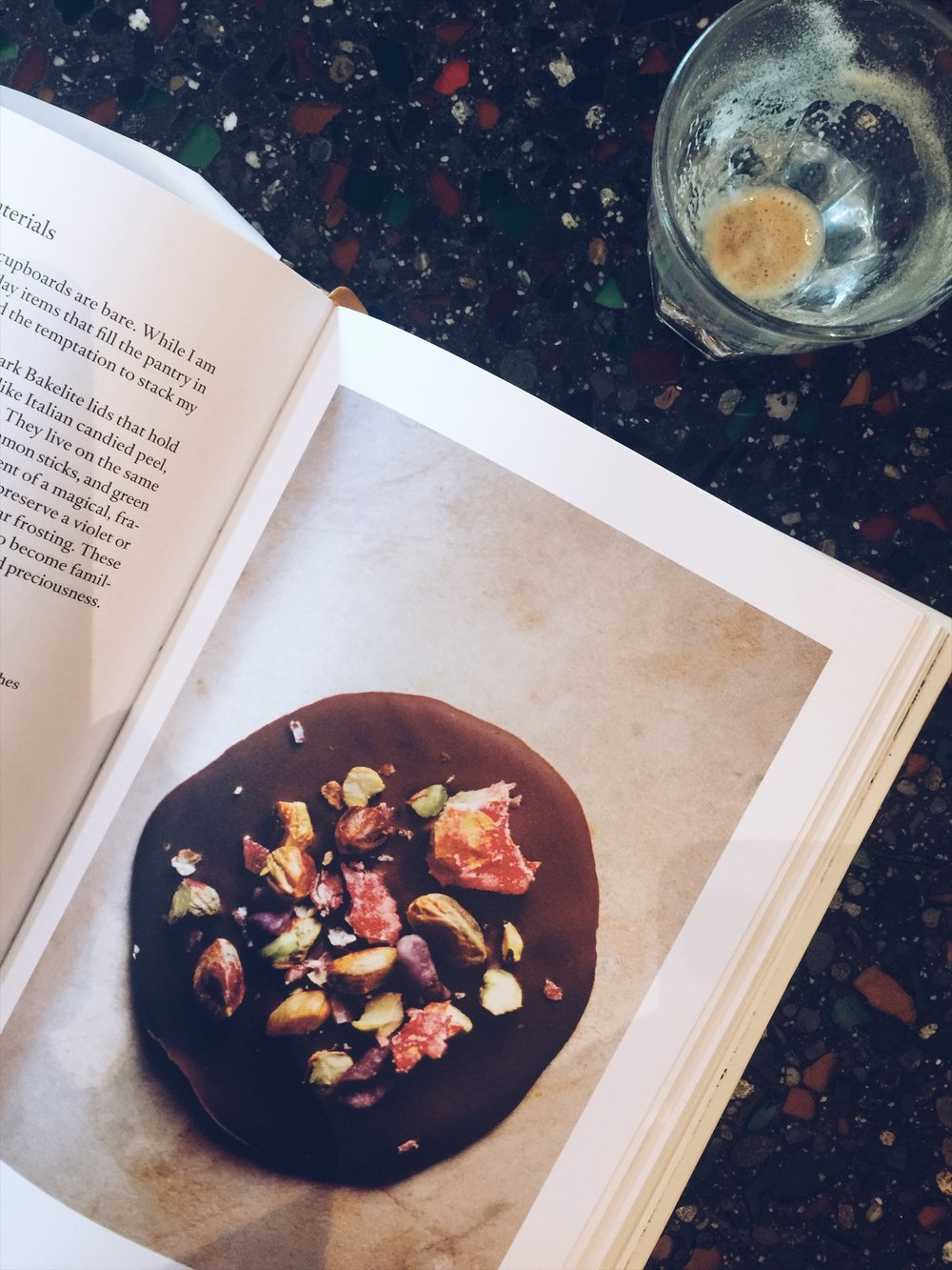 chocolate disc