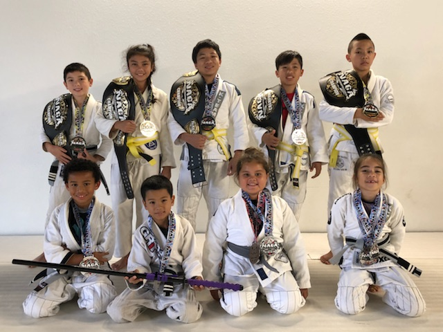 NAGA 2018 (Bohdi Davis, Haley-Scott Recarte, Jarren Seson, Jayden Seson, and Rawlins Fukuda all got Gold in the Expert Division for their age groups.)