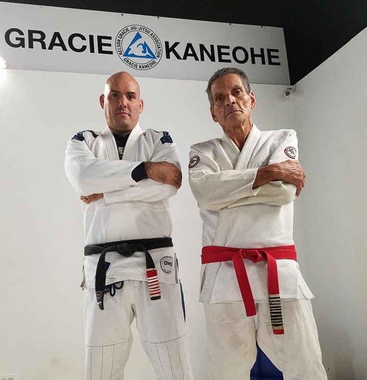 Kimo Kreis (5th Degree) and Relson Gracie (9th Degree)