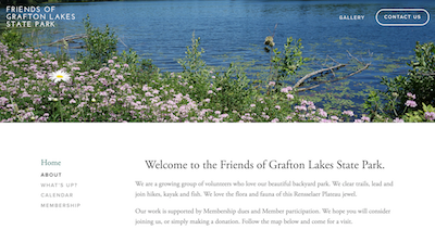 Friends of Grafton Lakes State Park, Grafton, NY