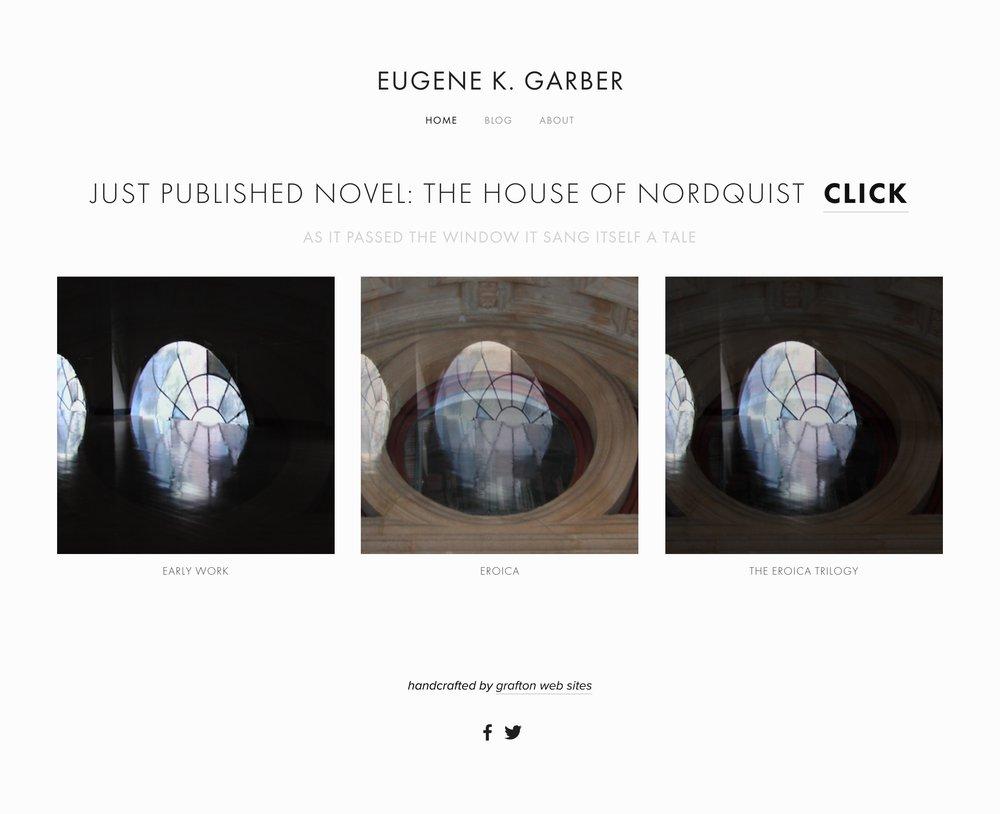 Eugene K. Garber, Author, Albany, NY