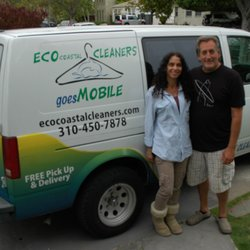 Jennifer, Larry and their trusty van