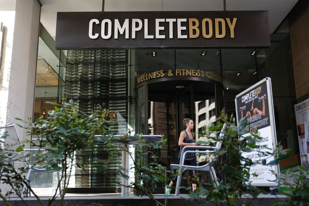 - COMPLETE BODY GYM