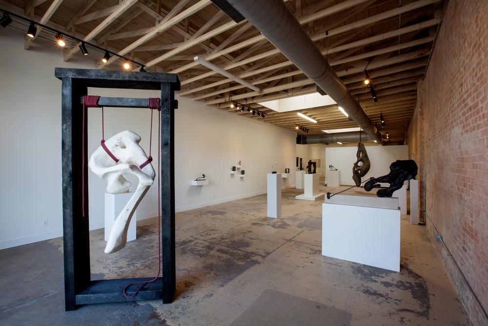 """2014 Solo Exhibition """"Remnants"""" at Rachel Nash Gallery, Dallas, TX"""