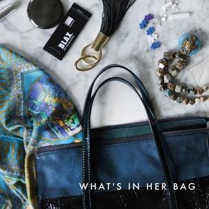 Dominique Paye Portfolio: What's in Her Bag